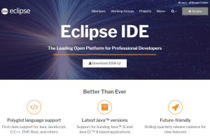 Eclipse IDE 2018-12